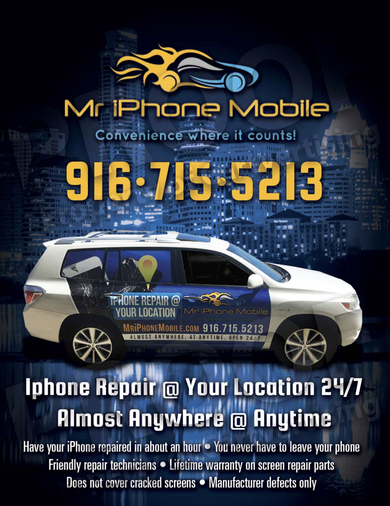 Mobile iPhone Repair SUV