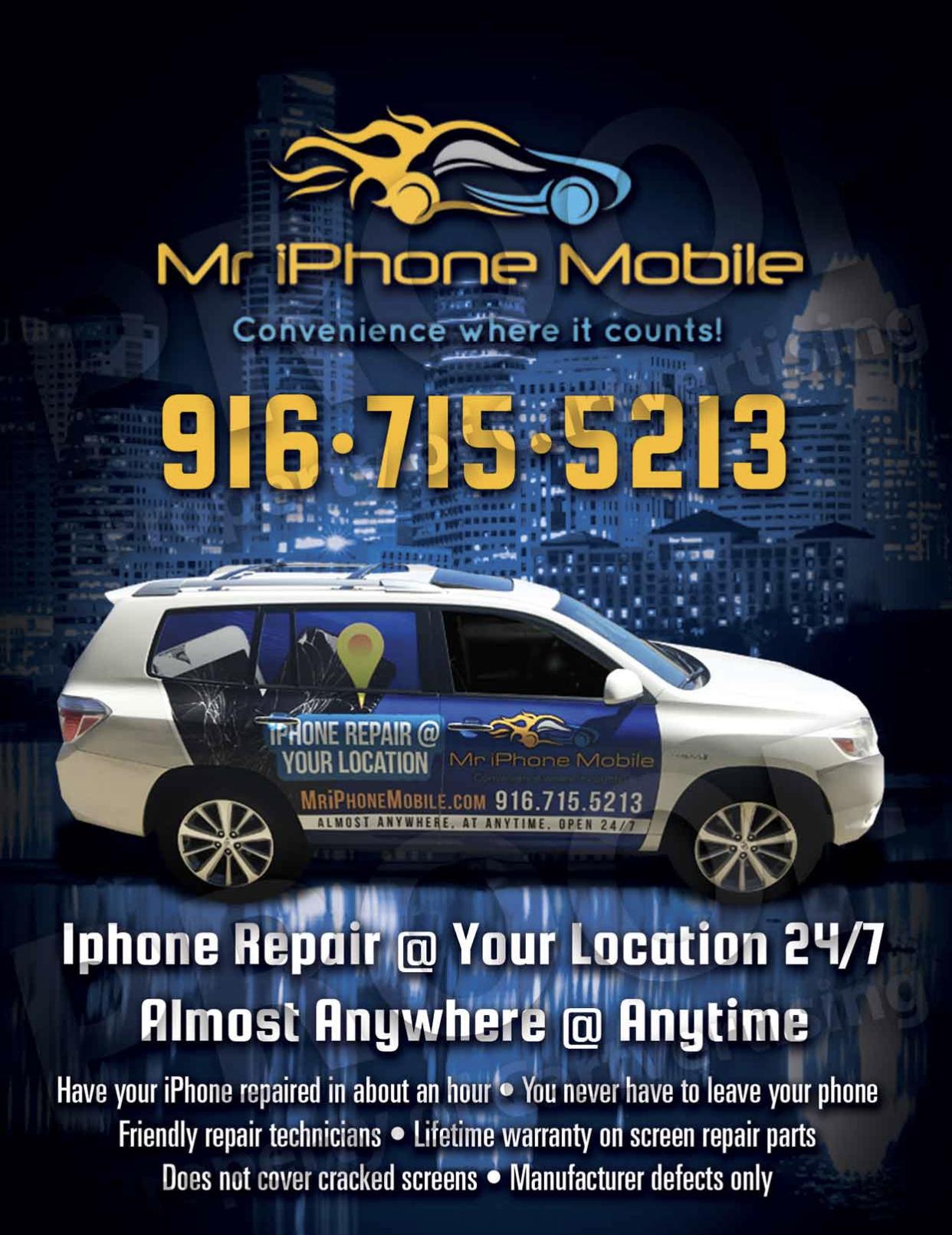 Mobile iPhone Repair SUV